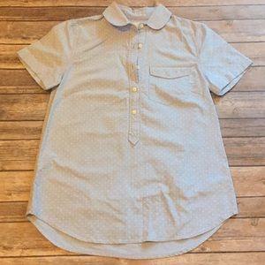 J. Crew Short Sleeve Collared Shirt